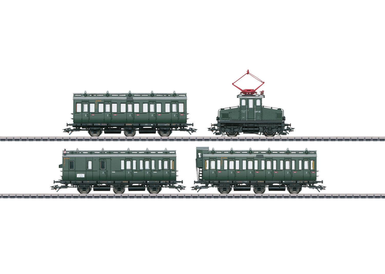 Märklin 26195 Coche de pasajeros CON E 69 de DB y vagón de compartimentos