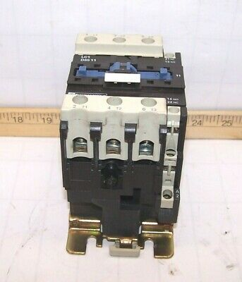 TELEMECANIQUE 10 HP AC MOTOR CONTACTOR 32 AMP 110 VAC COIL LC1D1801
