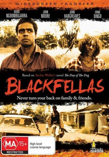 BLACKFELLAS - AUSSIE CLASSIC - ERNIE DINGO - NEW & SEALED DVD - FREE LOCAL POST