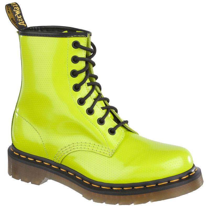 Dr. Martens zapatos 8 agujeros señora botas 1460 1460 1460 verde  marca en liquidación de venta