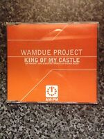 Wamdue Project ‎– King Of My Castle - CD Single