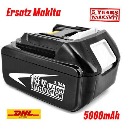 2× 6,0Ah Akku Für Ersatzakku Makita BL1850 18V LXT Li-ion BL1860 BL1840 BL1830 D