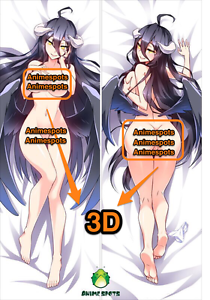 OVERLORD-ALBEDO-YC0458-Anime-Dakimakura-3D-butt-amp-3D-breast-pillowcase