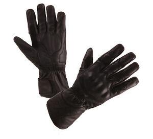 MODEKA-Aras-Motorradhandschuhe-Leder-Handschuhe-schwarz-Gr-10-XL-NEU
