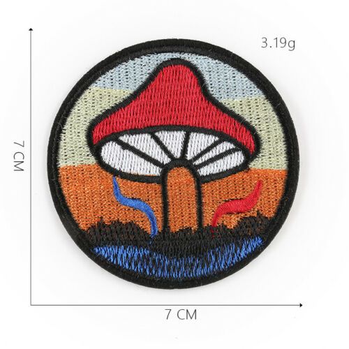 DIY Embroidered Bear Pattern Sew Iron On Badge Patches Clothing Fabric Applique
