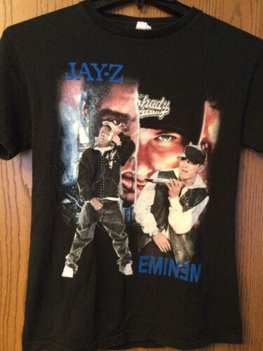 Jay Z & Eminem - Black Shirt.  S.