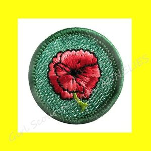 1955 Girl Scout Insignia 1st FIRST CLASS Patch Badge EUC Trefoil VOLUME DISCOUNT