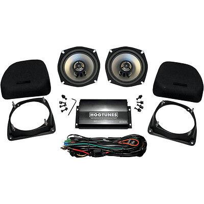 HogTunes Lower Fairing Speaker Kit with Amp for Harley Touring 98-13