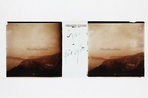 Eze-St-Jean-Cap-Ferrat-Francia-Foto-Targa-per-lente-Stereo-Vintage-2