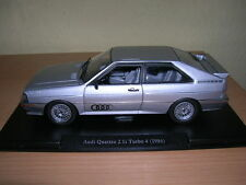 Atlas Fabbri Audi Quattro 2.1i Turbo 4 Modell Baujahr 1986 silber silver 1:24