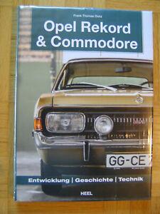 Opel-Rekord-amp-Commodore-1963-1986-von-Frank-Dietz-2018-Gebundene-Ausgabe