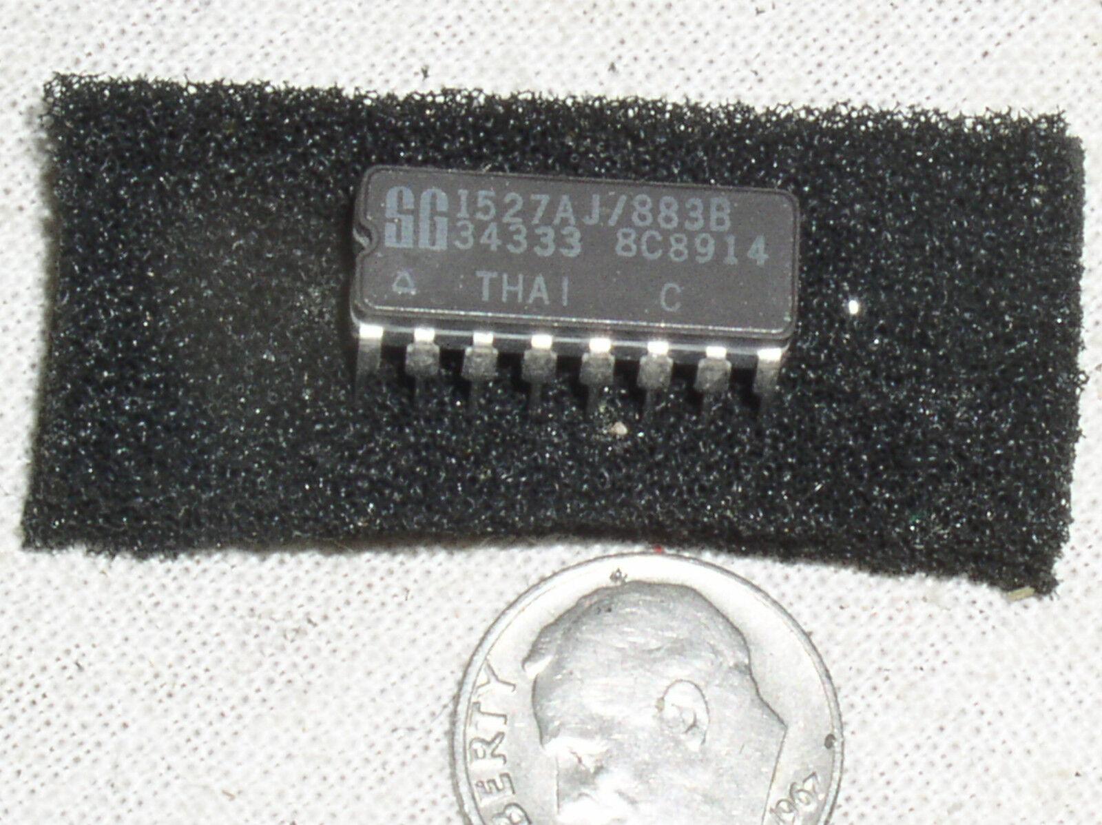 NOS SG 1527 1527AJ//883B MIL MILITARY VOLTAGE MODE PWM POWER SUPPLY REGULATOR IC