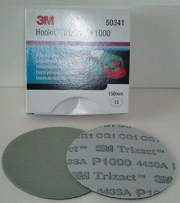 3M 443SA Trizact Feinschleifscheibe P1000 150mm
