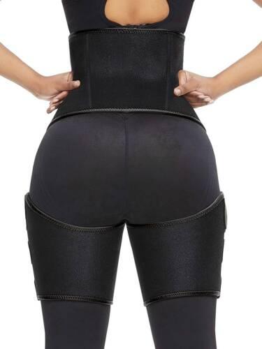 Leg Abdomen Fat Burner Shaper High Waisted Thigh Waist Trimmer Belt Weight Loss