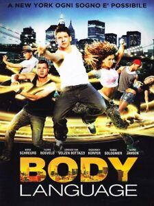 Body Language DVD Film Danza Nuovo Sigillato RN
