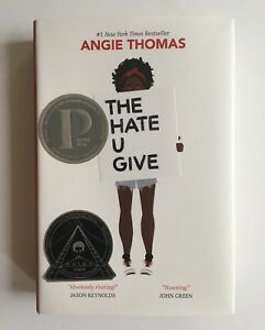 Angie-Thomas-Signed-Autographed-The-Hate-U-Give-1st-Edition-HC-NEW