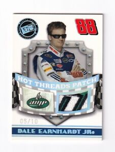 2009-Premium-HOT-THREADS-PATCH-AMP-Dale-Earnhardt-Jr-BV-150-05-10-ULTRA-RARE