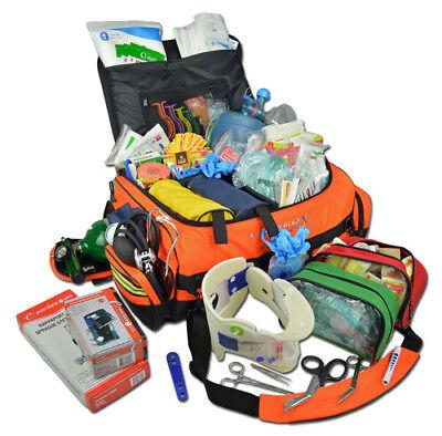 Lightning X Jumbo Medic First Responder Emt Ems Trauma Bag Stocked Kit Lxmb65 Sk