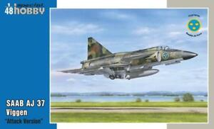 SAAB-AJ-37-Viggen-Attack-Version-1-48-Special-Hobby