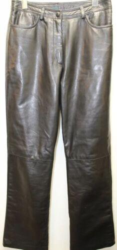 Sort Danier Canada Flat Inches Læder Lined Women Boot Front Legs 26 6 Bukser tq4tr