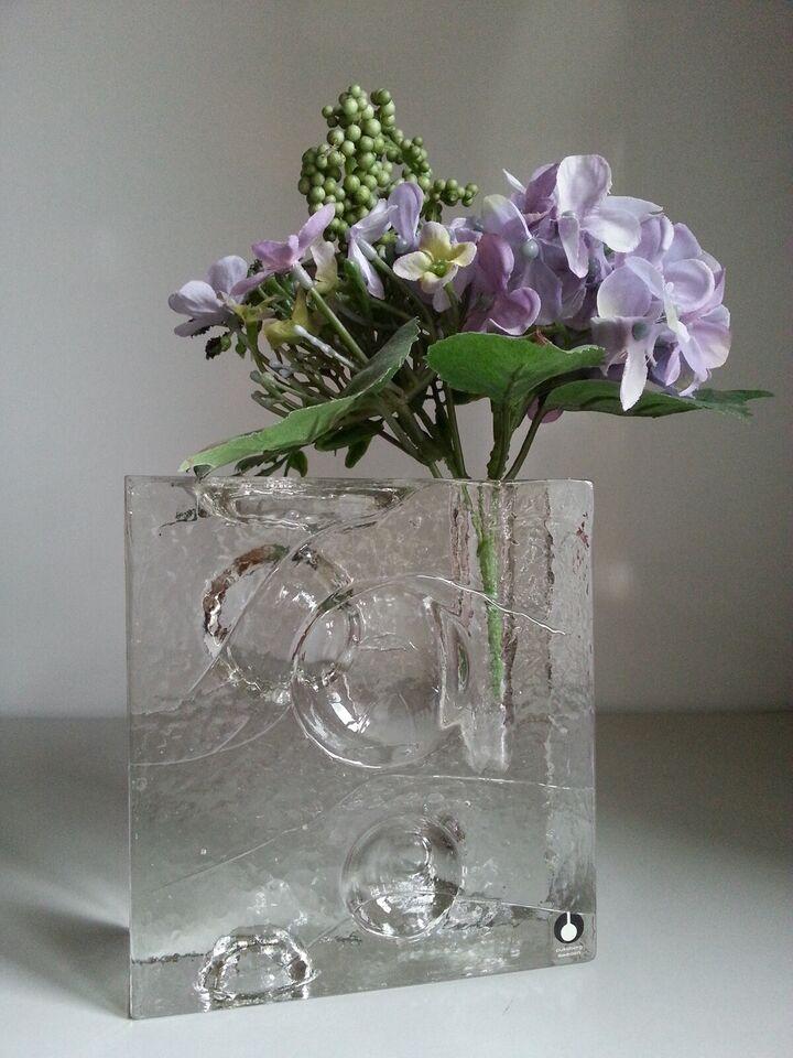 Glas, PUKEBERG - Uno Westerberg - solifleurvase
