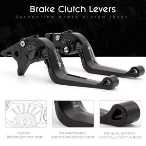 FXCNC Extend/&Foldable Brake Clutch Lever For APRILIA SHIVER//GT 07-16 SHIVER 900