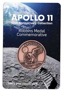 1969-2019-Apollo-11-Robbins-Medals-1-oz-Copper-Antiqued-Medal-Gem-BU-SKU54912