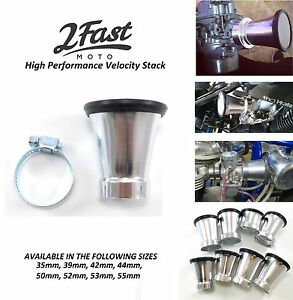 2FastMoto-Velocity-Stack-Motorcycle-Air-Intake-Filter-Kawasaki-KZ-Cafe-Racer