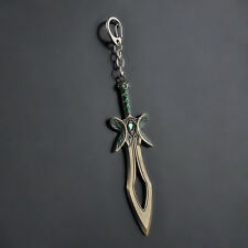 Game Series DOTA 2 The Butterfly Sword Weapon Key Chain Alloy Keychain Cosplay