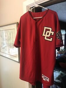 Washington Nationals 2006 game used worn issued jersey 2nd Year DC set tagged !!
