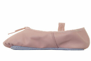 Capezio Cuero Margarita Rosa De Ballet Zapatos De Baile (estilo 205)