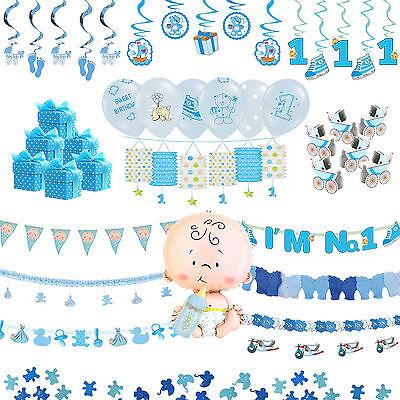 = MEGA AUSWAHL = Babyparty Deko Girlande Baby Geburt Taufe Geburtsgeschenk Party