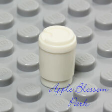 NEW Lego Minifig Take-out COFFEE CUP -Cafe Restaurant Styrofoam-Style To Go Cups