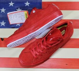 9c3e3912468 CONVERSE UNRELEASED SAMPLE Chuck Taylor ALL-STAR OX Casino-Red Suede ...
