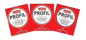 Leeda-Profil-Fusele-9ft-Saumon-Moulages-Toutes-les-Tailles-Peche-a-la-Mouche