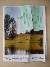 July 2011 - Theatre House Playbill w/Tickets - Castleton Festival
