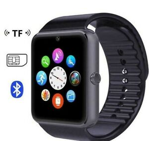 2019-Model-GT08-Bluetooth-Smart-Watch-Fits-Android-amp-iOS-GSM-GPRS-SIM