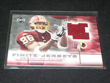 TAYLOR JACOBS REDSKINS 2003 GAME USED GENUINE CERTIFIED AUTHENTIC JERSEY CARD