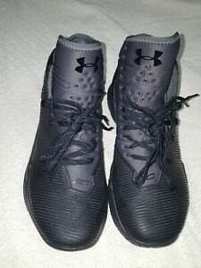 df06b8a1dbe UNDER ARMOUR STEPH CURRY 2.5 Basketball Shoes BLACK 1274425-006 Size ...