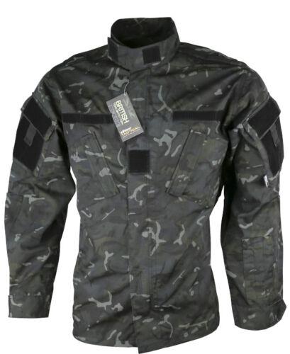 Mens Army Combat Tactical Military Shirt ACU Surplus Jacket Top Smock BTP Camo