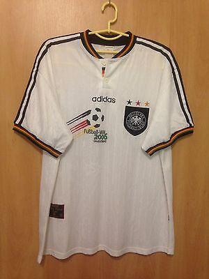 Search For Flights Germany National Team 1996/1998 Home Football Shirt Jersey Trikot Wm2006 Adidas Soccer-national Teams