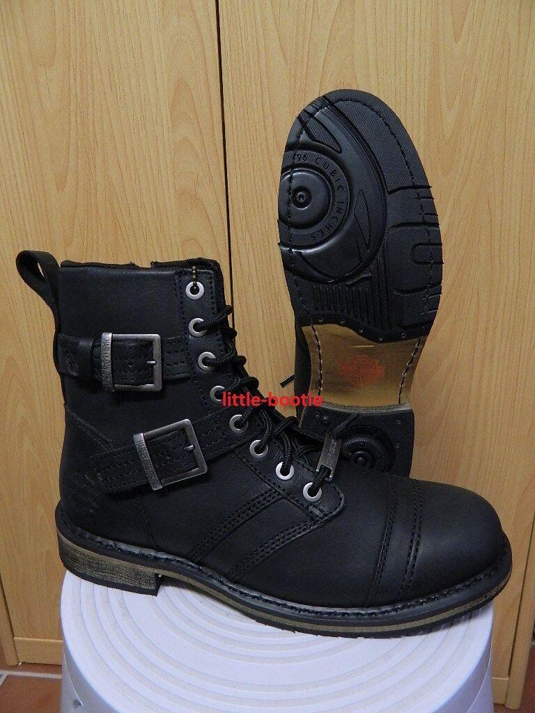 Harley-Davidson® Stiefel Stiefel Leder Herren für Gr. 44 93387 Drexel schwarz