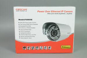 FOSCAM-FI8905E-POWER-OVER-ETHERNET-IP-CAMERA-DAY-NIGHT-SURVEILLANCE-CAMERA