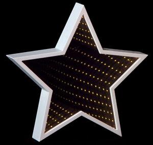 Weihnachtsdeko Led Stern.Led Stern 3d Spiegeleffekt Fensterbeleuchtung E1050813