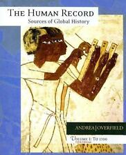 Human Record to 1700 Vol. 1 : Sources of Global History