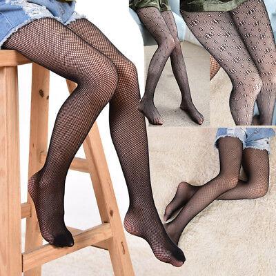 New Ladies Women Hosiery Fishnet Elastic Thigh High Stockings Pantyhose Tights