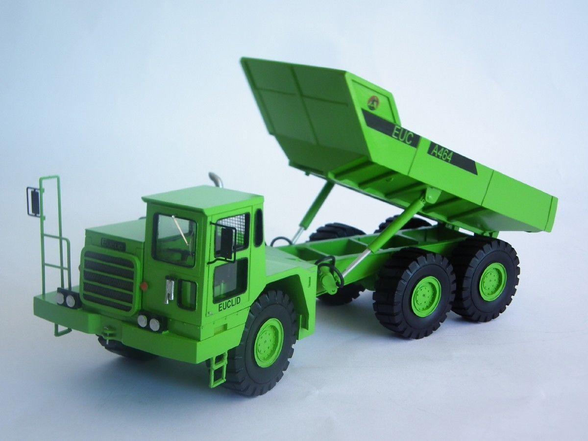 precios mas bajos 1 1 1 50 Euclid A-464 Articulado Camión-Kit De Resina De Alta Calidad  tienda en linea