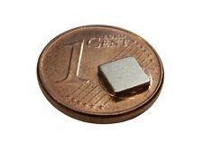 S170 Quadermagnete 10 Stück 5x5x1mm sehr starke Magnete z.B. für Reedkontakte