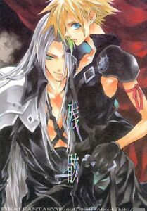 Details About Final Fantasy Vii 7 Yaoi Doujinshi Sephiroth X Cloud Zangai Kiki