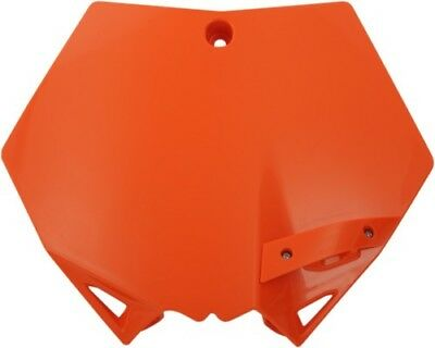 Cycra 1CYC-0800-22 Orange Plastic Motorcycle Stadium Front Number Plate